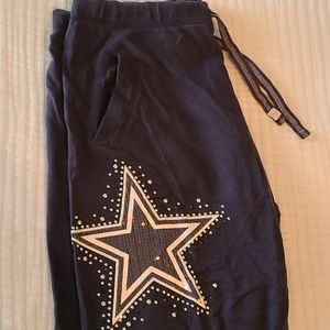 Victoria's Secret PINK Dallas Cowboys Sweatpants